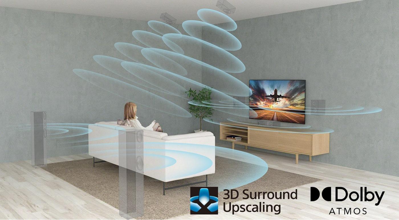 با تلویزیون A80J انقلاب جدیدی از کیفیت صدا را تجربه خواهید کرد!!