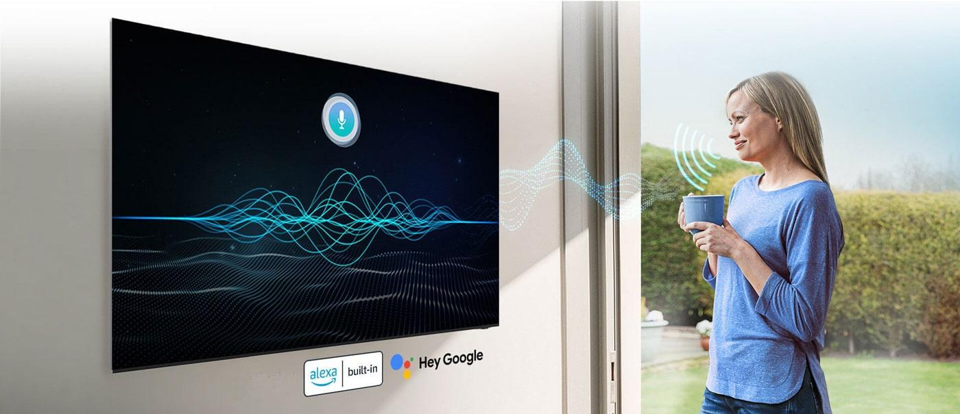 طیف گستردهای از امکانات هوشمند تلویزیون سونی A80J