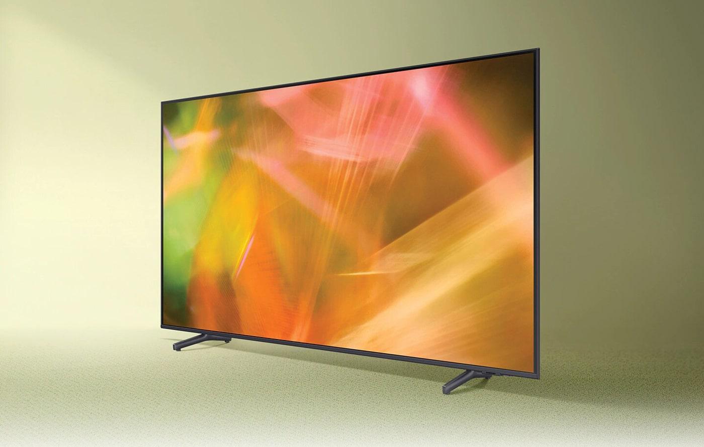 مشخصات تلویزیون سامسونگ 55AU8000 با کیفیت تصویر 4K