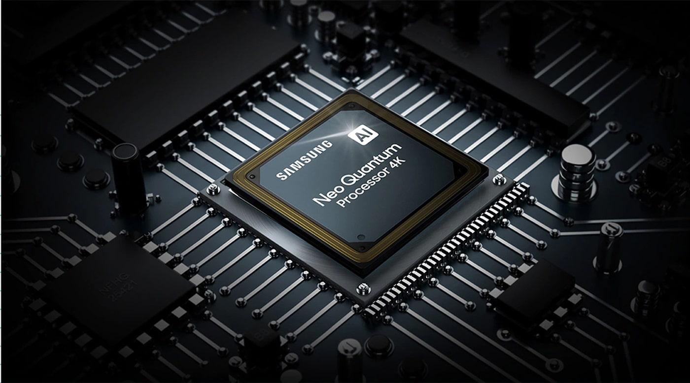 عملکرد پردازنده هوشمند Neo Quantum Processor 4K